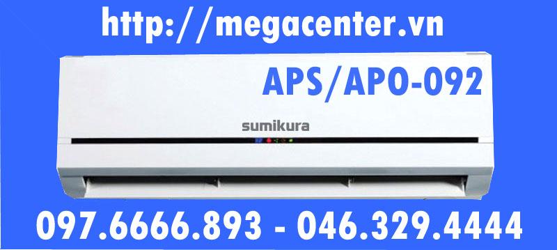 điều hòa sumikura 9000 1 chiều inverter