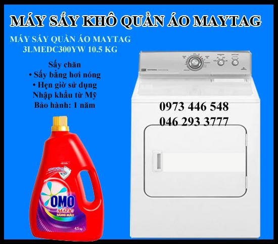may-say-kho-quan-ao-105-kg-maytag-3lmedc300yw